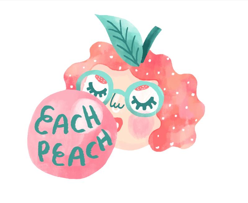 Each Peach Branding