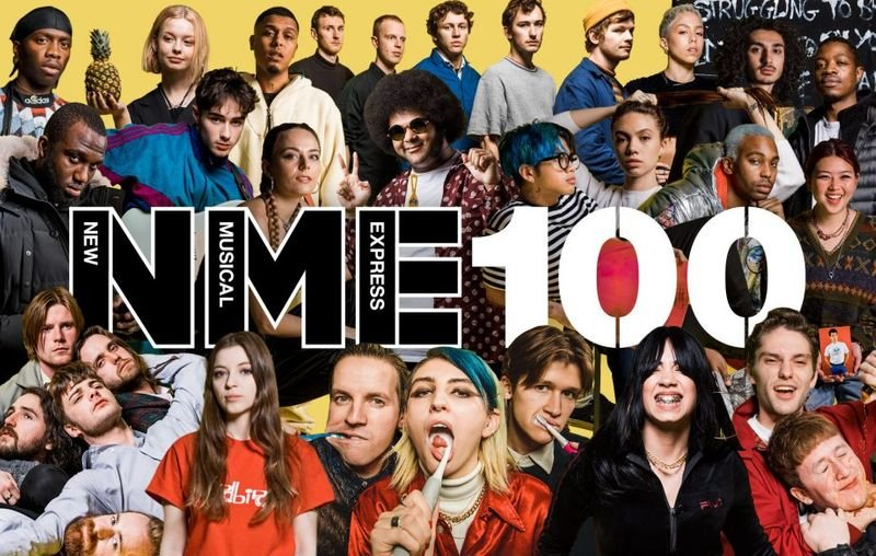 NME 100 2019 - Photo and video shoot