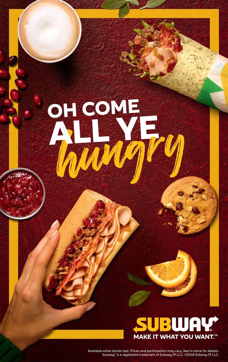 Subway Feastmas 2018