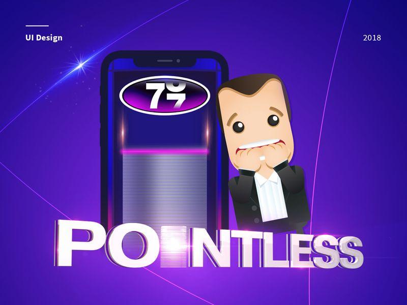 Pointless Quiz app - UI Design