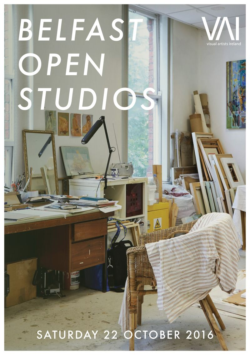 Visual Artists Ireland Open Studios Leaflet