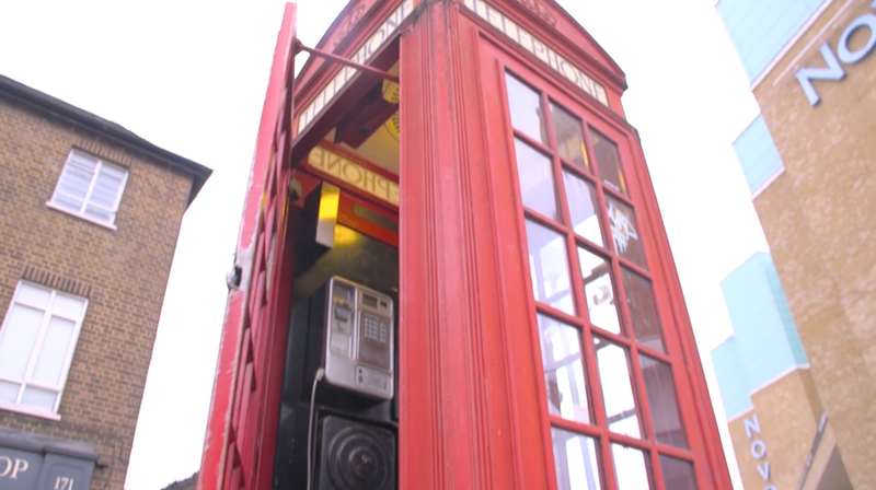 Evolution of the Red Telephone Box
