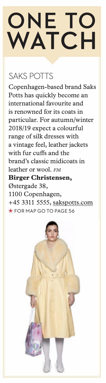 SHOP Magazine AW18 - Copenhagen