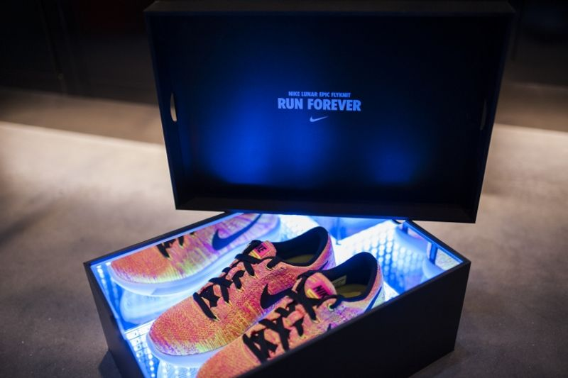 Nike - Nike Lunar Epic Flyknit Launch at 'Unlimited Amsterdam'