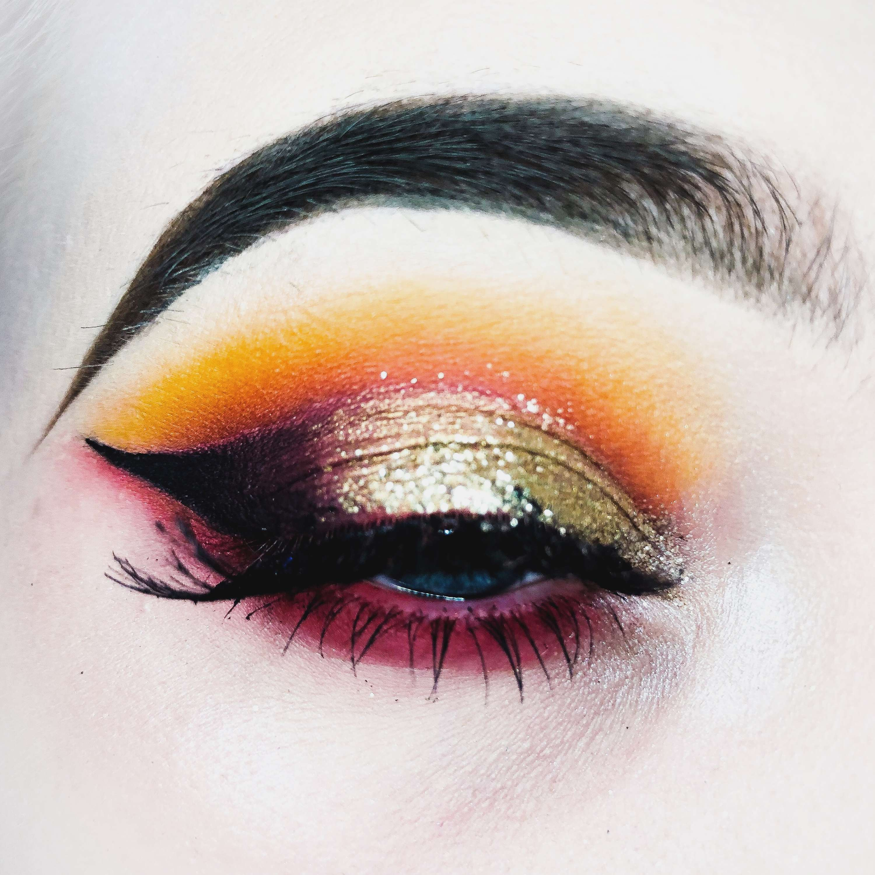 Makeup creations I do in my free time for portfolio building