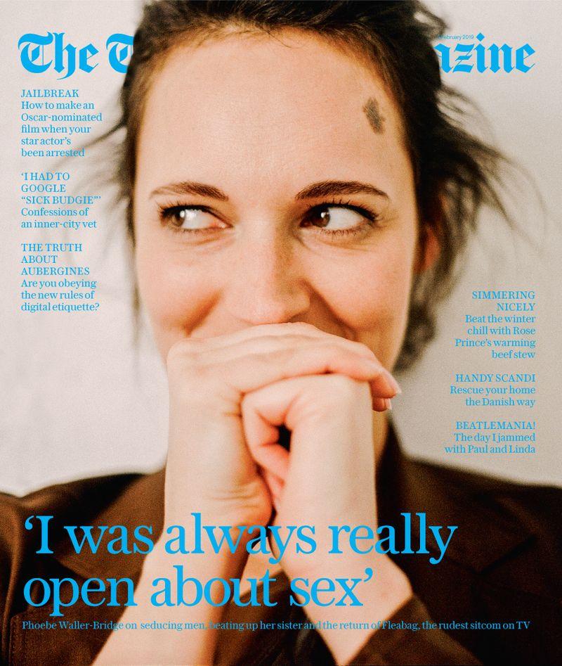 Phoebe Waller-Bridge x Telegraph Magazine x Tiffany Nicholson