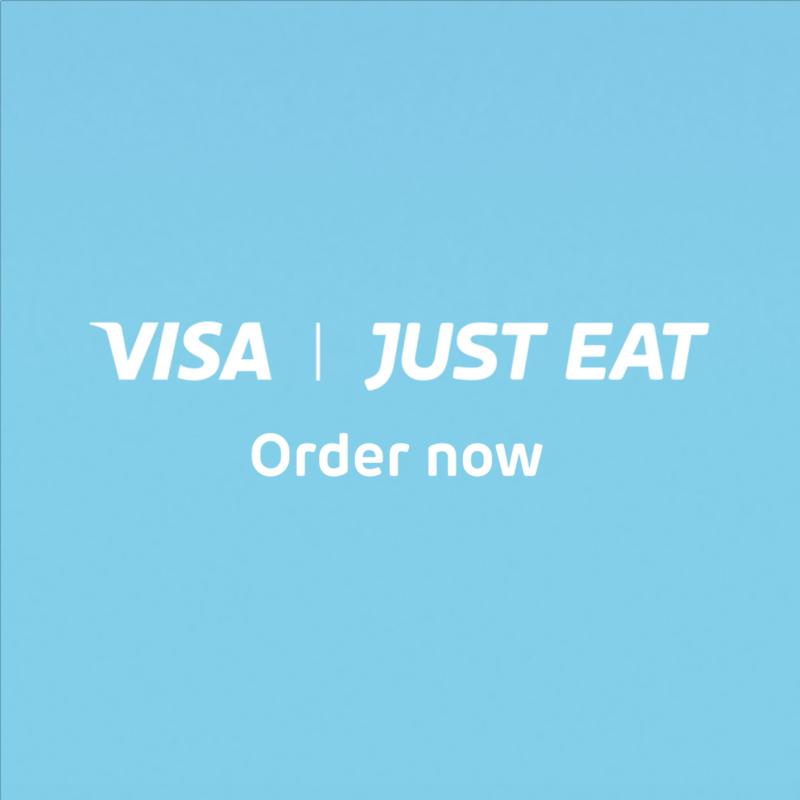 Just Eat x Visa Checkout
