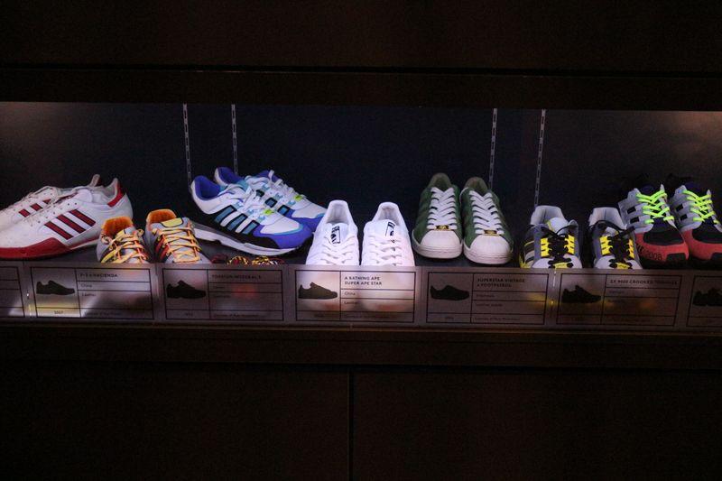SHOES: PLEASURE & PAIN - adidas retrospective at Bowes Museum [V&A]