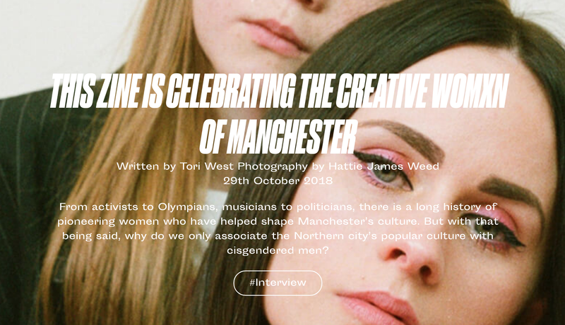 GURLS TALK - This Zine is Celebrating The Creative Womxn of Manchester