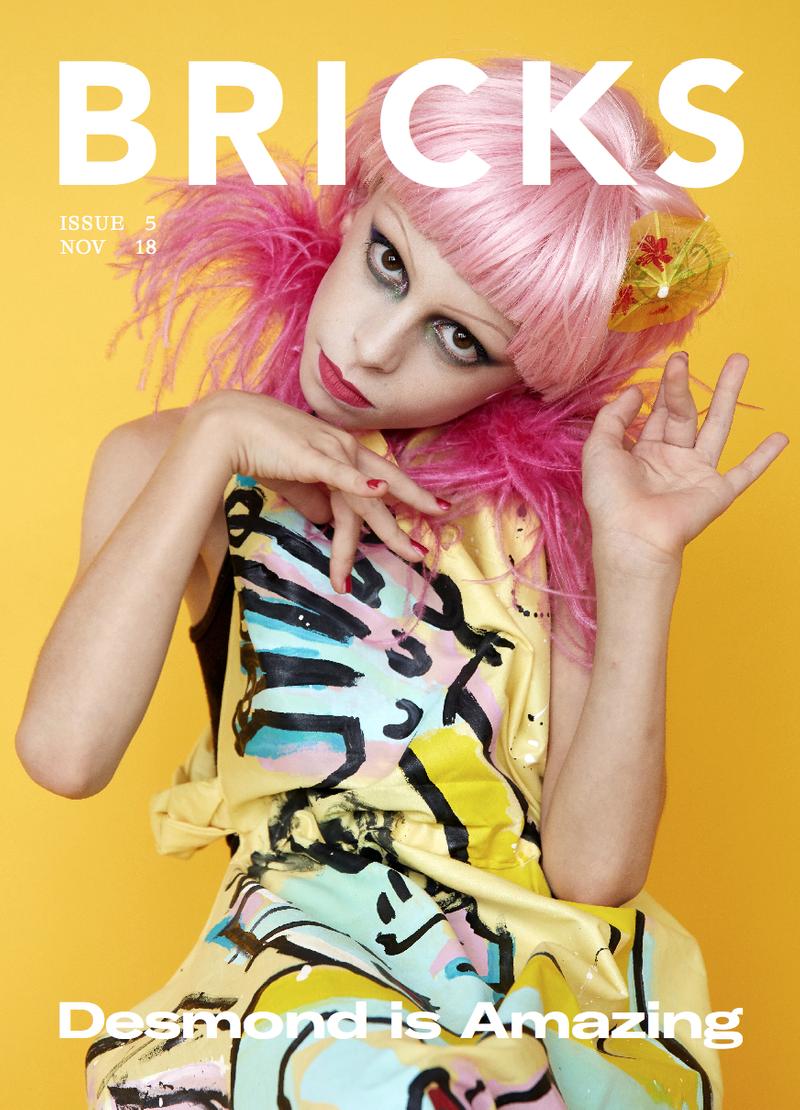 BRICKS - Desmond is Amazing Cover