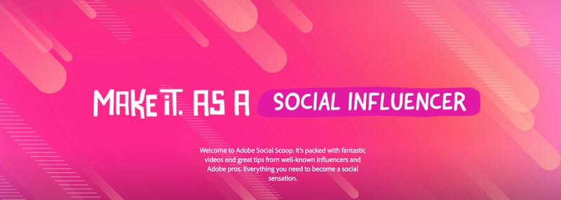Adobe Social Scoop