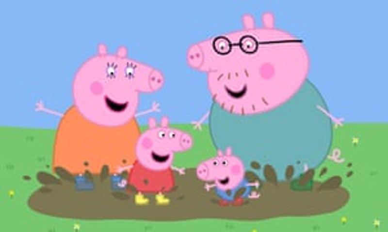 Peppa Pig's Muddy Puddle Walk