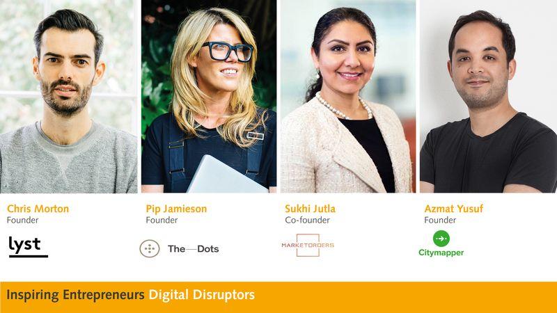 Inspiring Entrepreneurs: Digital Disruptors
