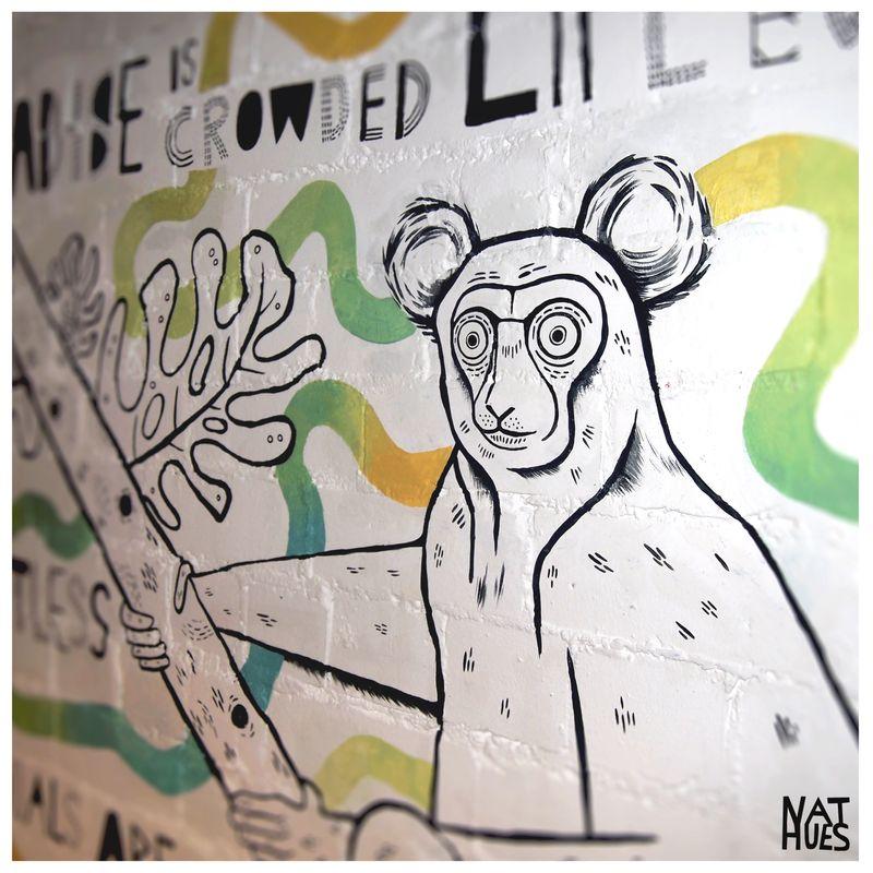 New mural: Indri