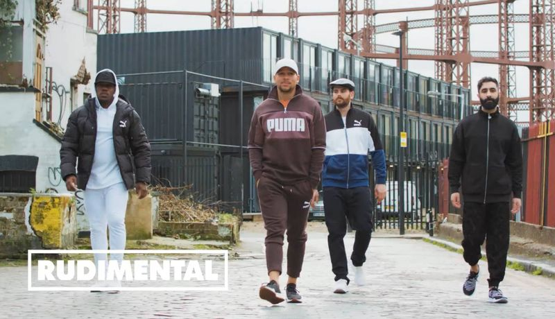 Rudimental for Puma Run The Streets campaign AW18 AVID RPLNT