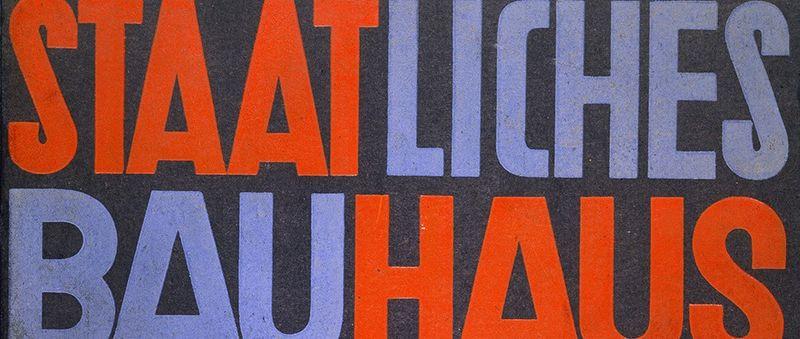 Celebrating 100 Years since the Birth of Bauhaus