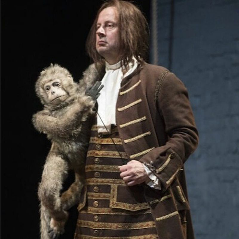Puppet Monkey   for The Libertine, Haymarket Theatre, London.