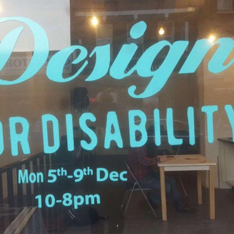 Design for Disability | Pop-up shop