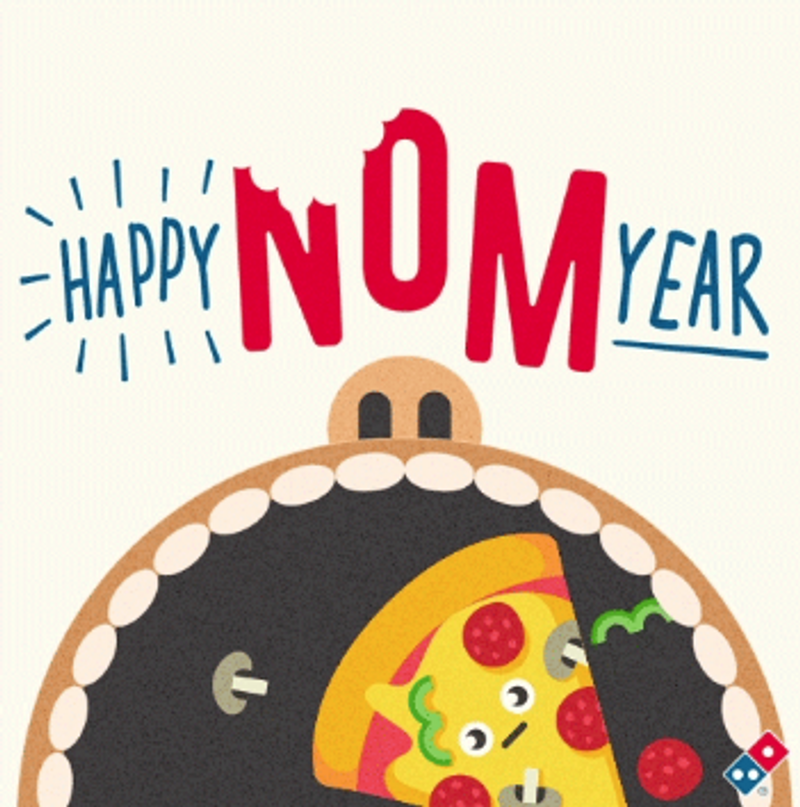 Domino's Pizza - New Years Day