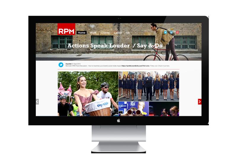 RPM WEBSITE REDESIGN
