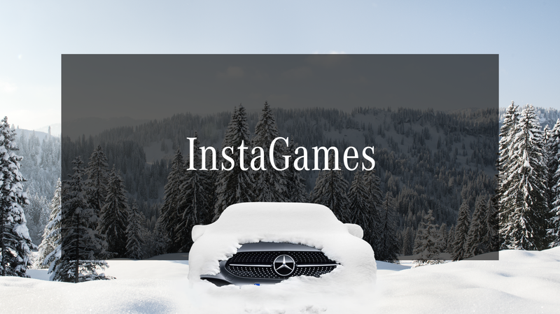 Mercedes-Benz / Winter Instagames