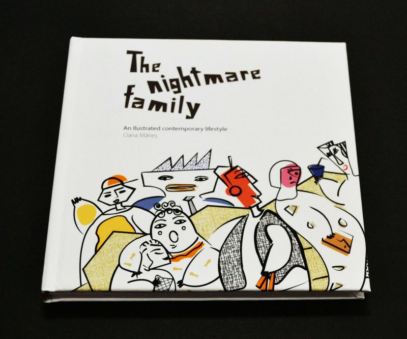 The Nightmare family - Book Design