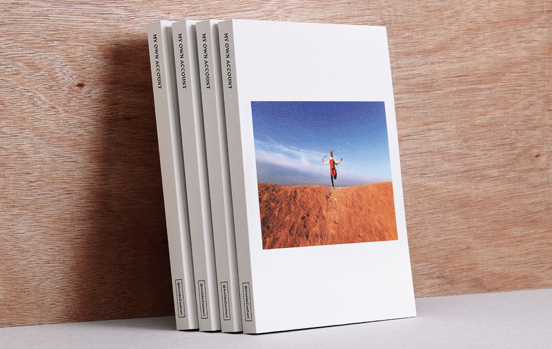EXHIBITION 'My Own Account' photography book by Syrian Teenagers