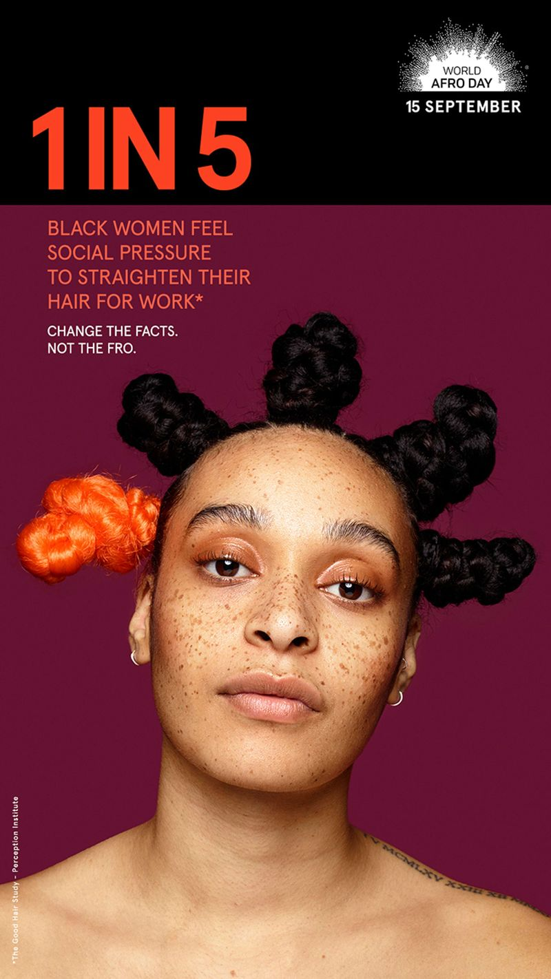 Ogilvy collaborates with World Afro Day for new awareness campaign