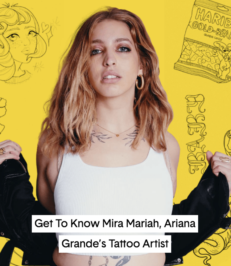 Nylon: Interview with Girl Knew York, Ariana Grande's Tattoo Artist