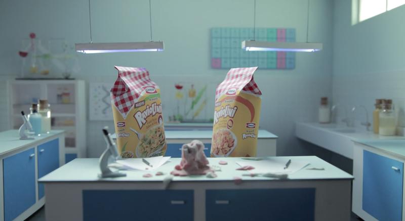 Raviolini - Advertisement