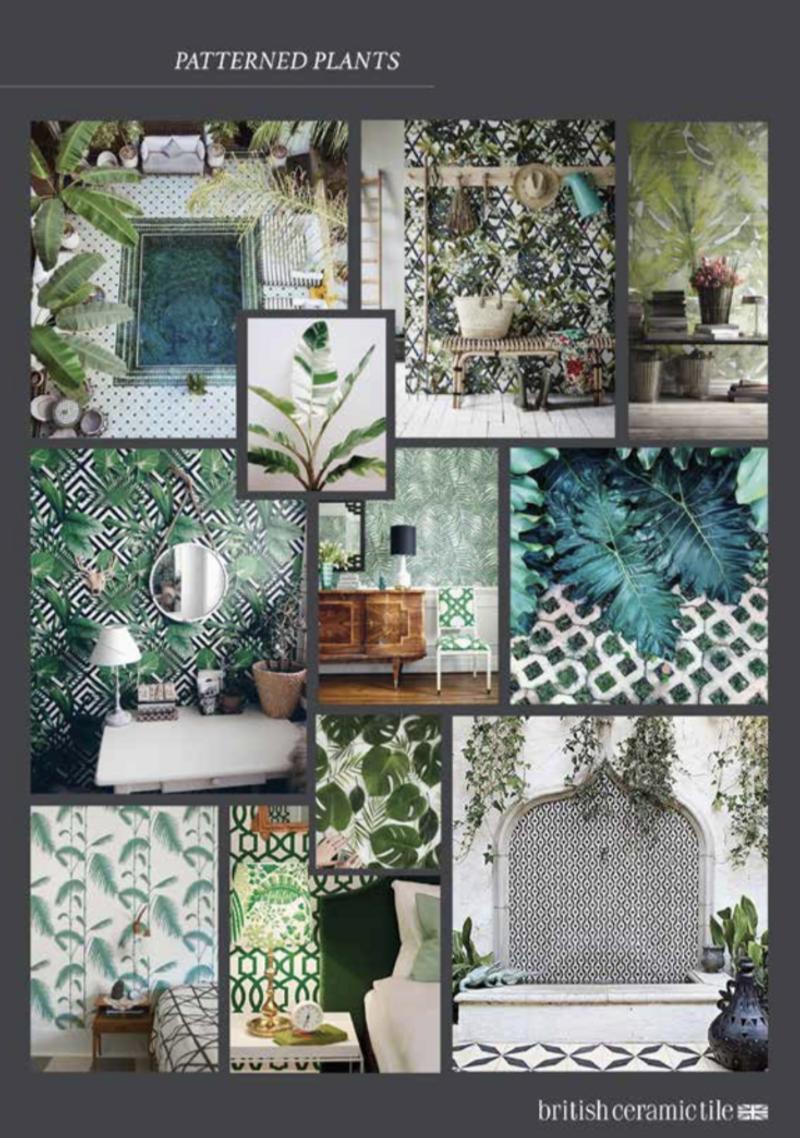 British Ceramic Tile - Ted Baker | V&A | Laura Ashley