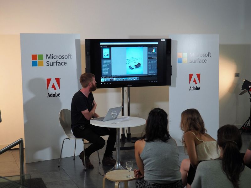 An evening with Allan Hinton - Adobe x Surface