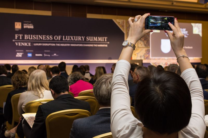Financial Times. Business of Luxury Summit.