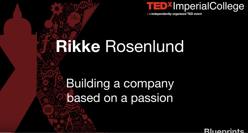 TED talk: Building a company based on passion