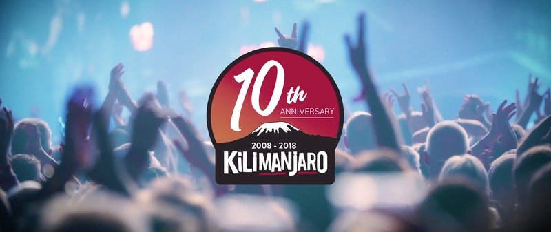 Kilimanjaro 1Oth Anniversary