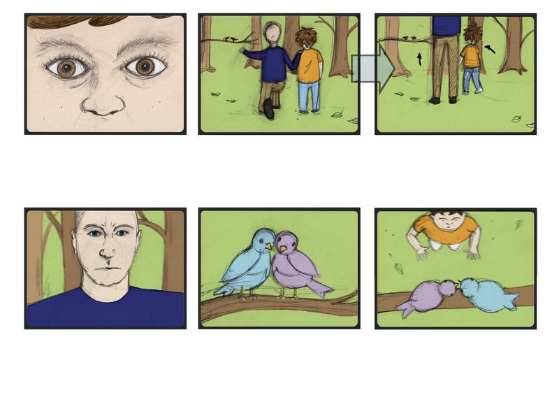 Painkiller storyboard