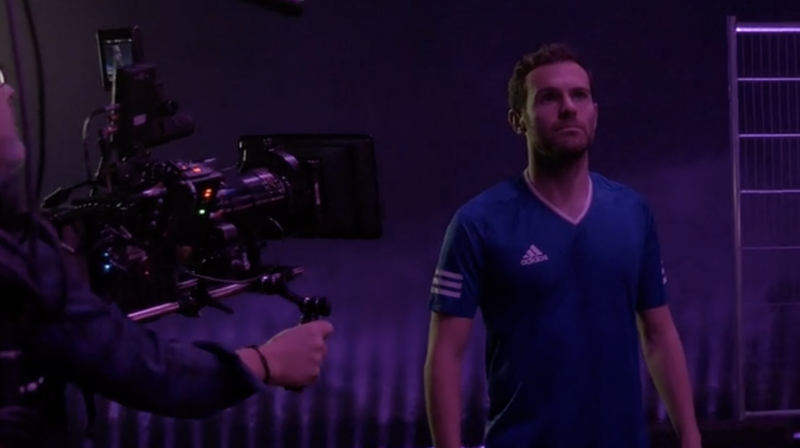 Behind the Scenes with Rebell // Adidas - Juan Mata