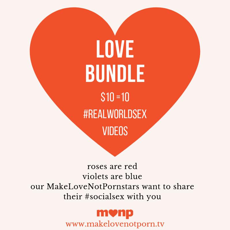 MakeLoveNotPorn: The Love Bundle - Valentine's 2019