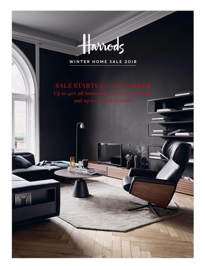 Harrods Winter Home Sale 2018