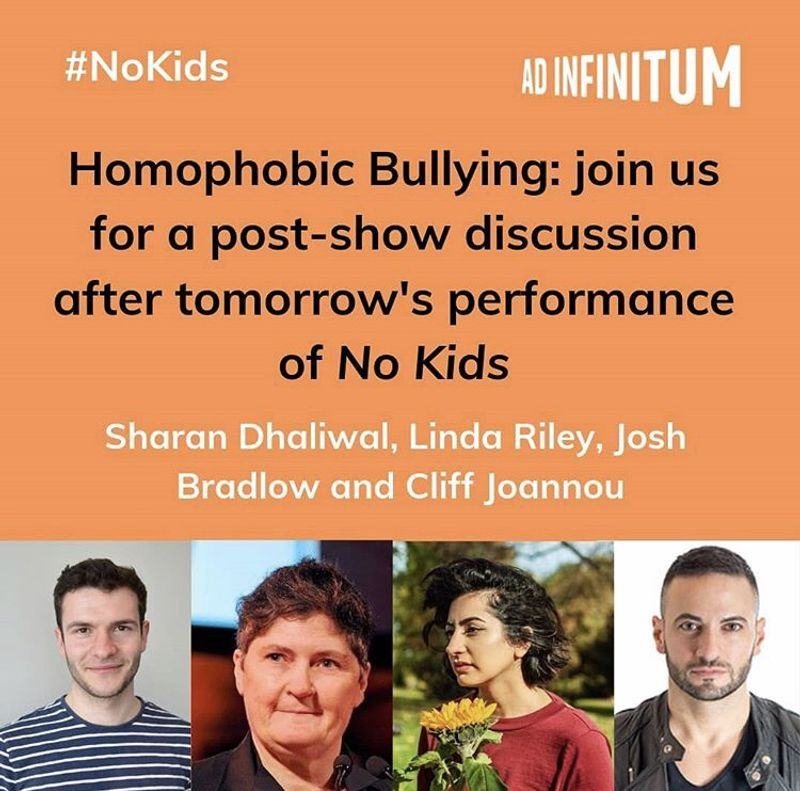Panel discussion on homophobic bulling -Battersea Arts Centre