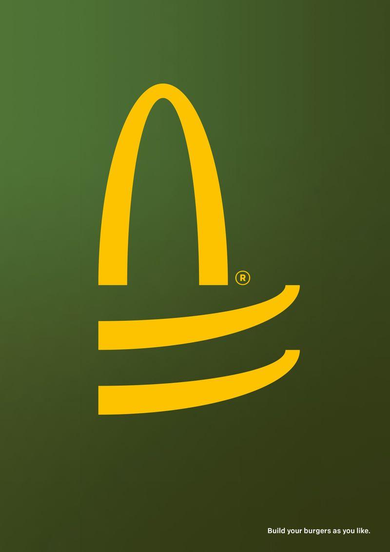 "McDonald's ""Build as you like"""