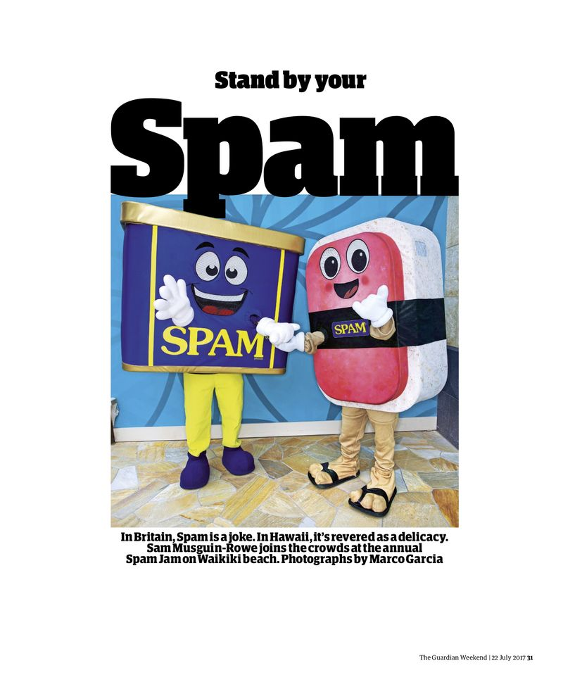 Stand by your SPAM