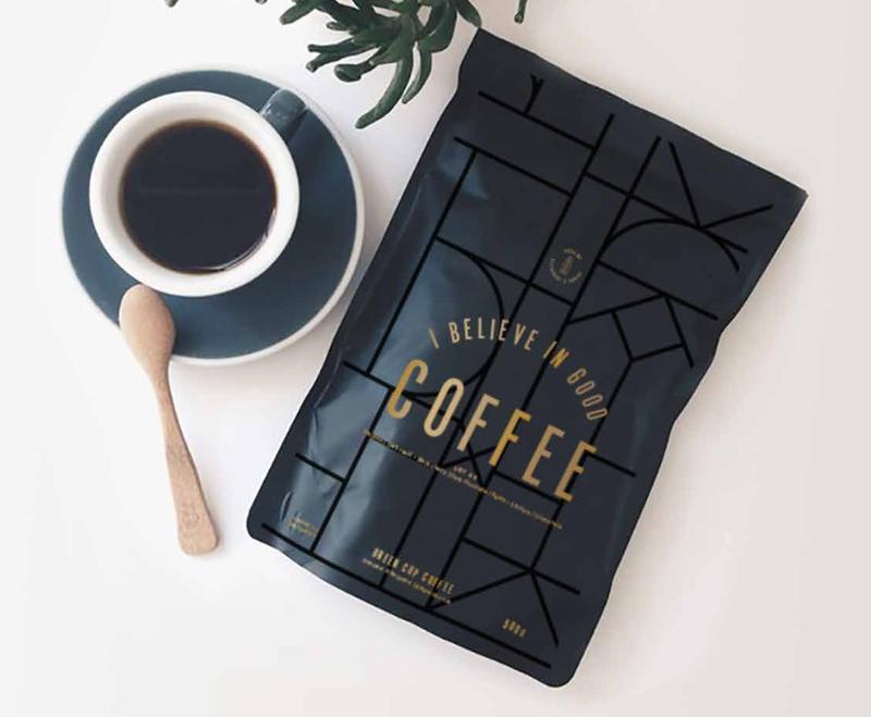 Aubaine Coffee Packaging