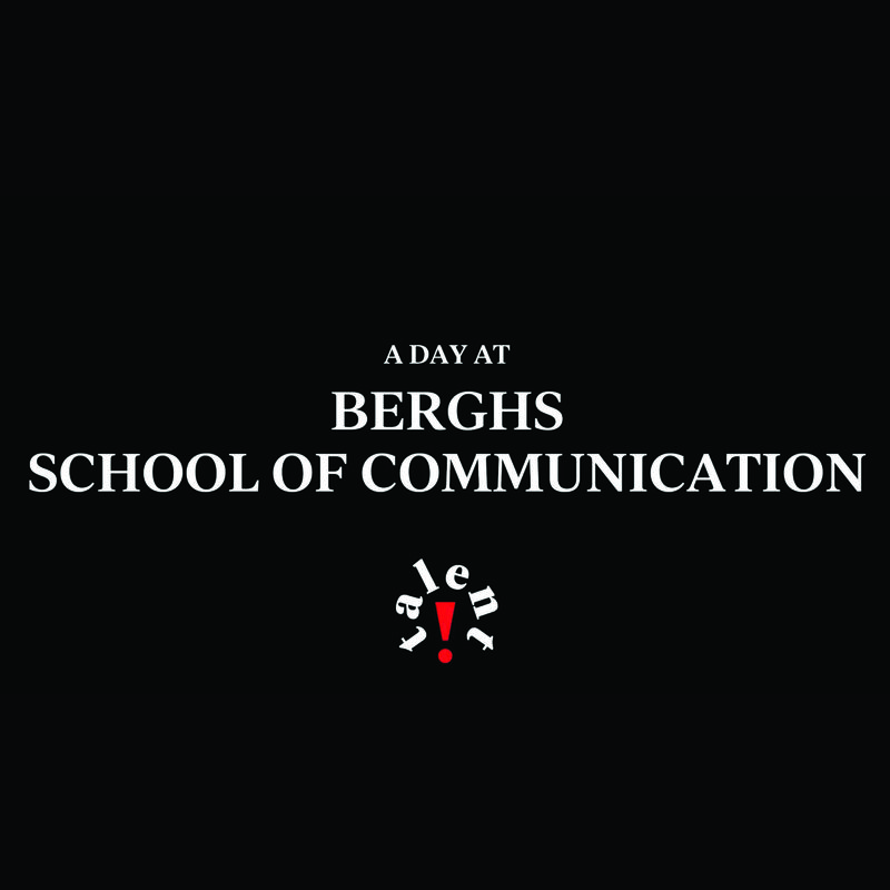 A Day at Berghs School of Communication