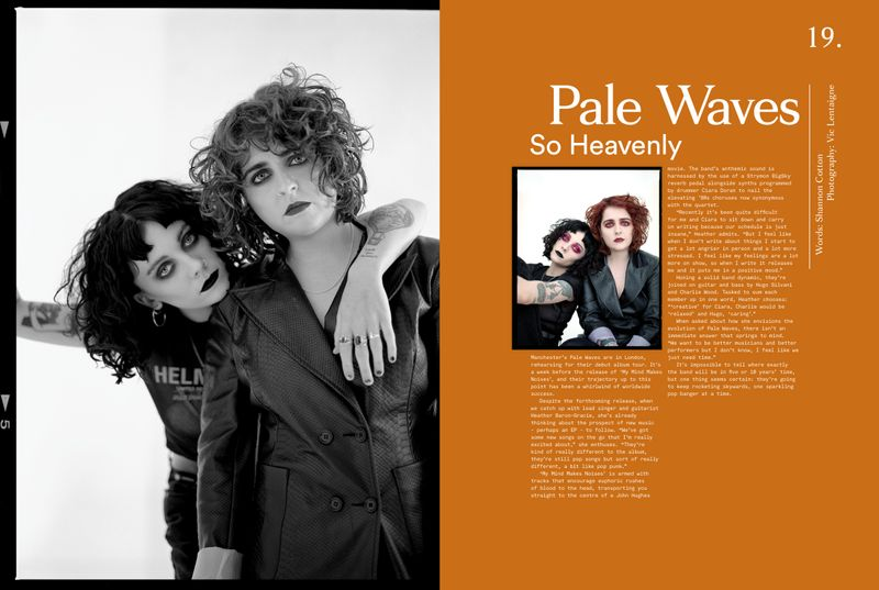 Pale Waves for Clash Magazine