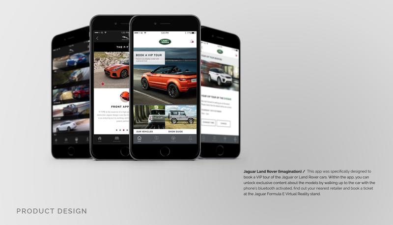 Jaguar Land Rover Paris Autoshow App