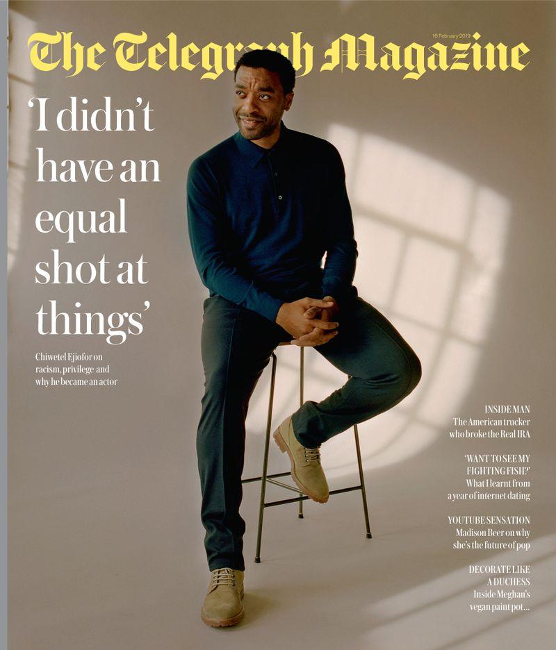 Chiwetel Ejiofor x Jo Metson Scott x Telegraph Magazine