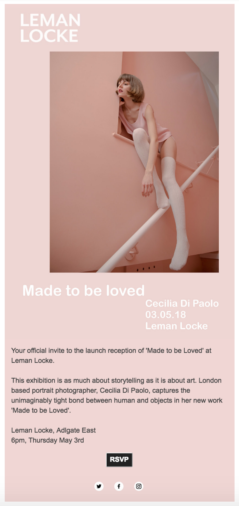 Leman Locke | 'Made To Be Loved' Solo Exhibition