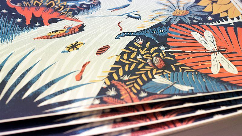 Late Jurassic Screen Print
