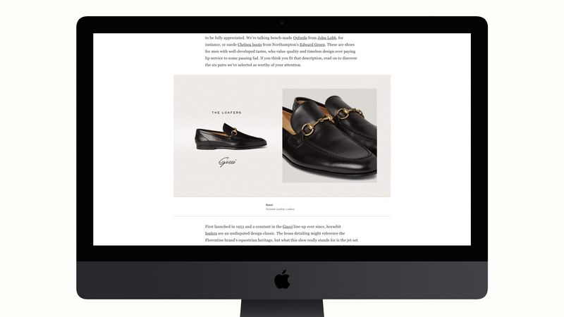 Shoes Editorial - MR PORTER